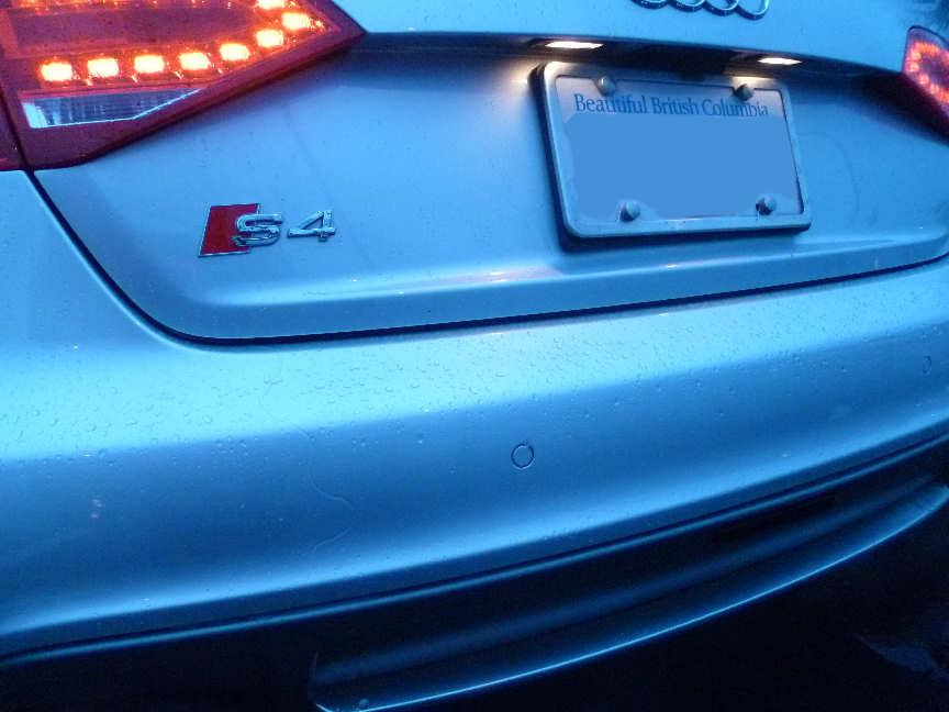 Audi S4 Tail