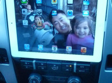 iPad integration in Ford F-150.