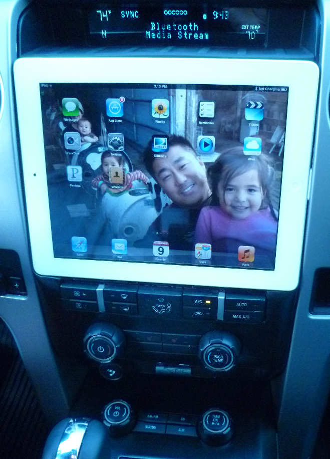 Ipad Integration In Ford F 150 Systems Unlimited