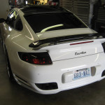 Laser Diffusers on Porsche 997 Turbo