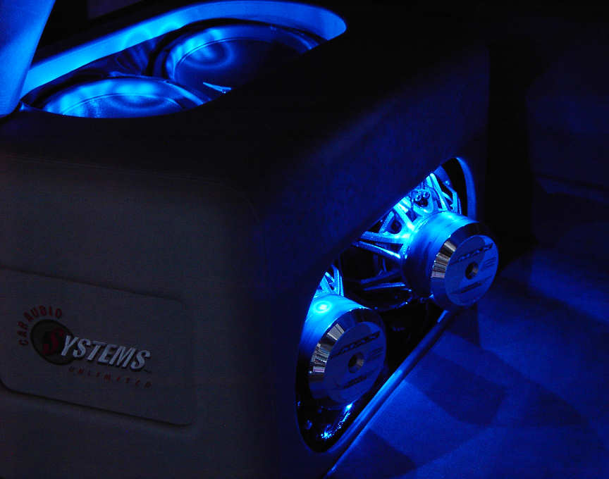 Subwoofers In A Custom Enclosure Systems Unlimited