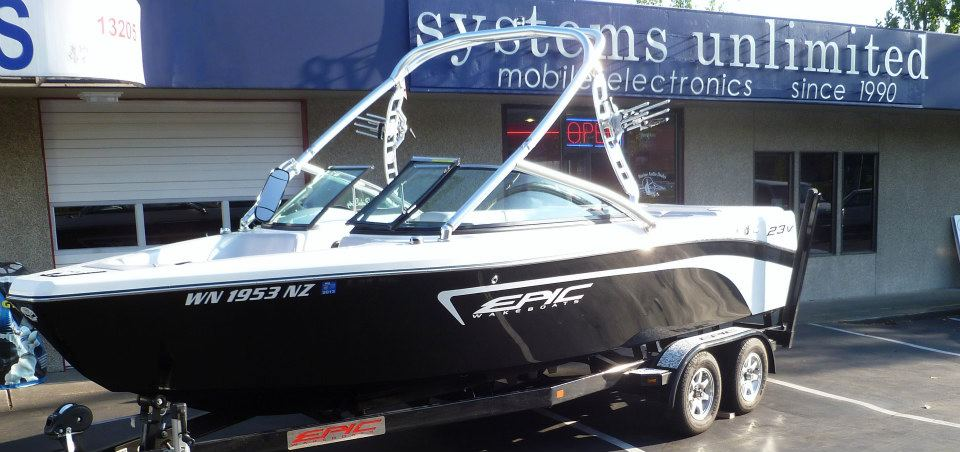 Epic 23 Wakeboard Boat Systems Unlimited