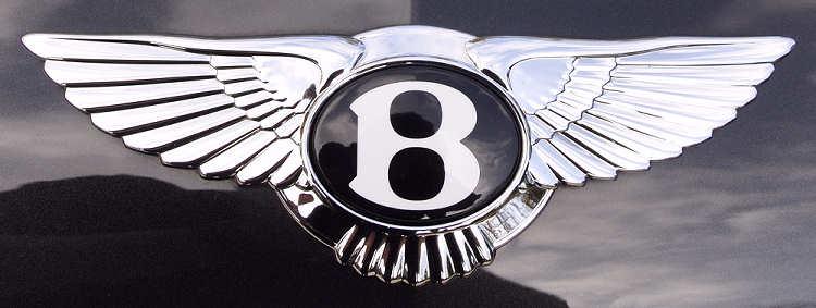 Bentley Logo on Hood