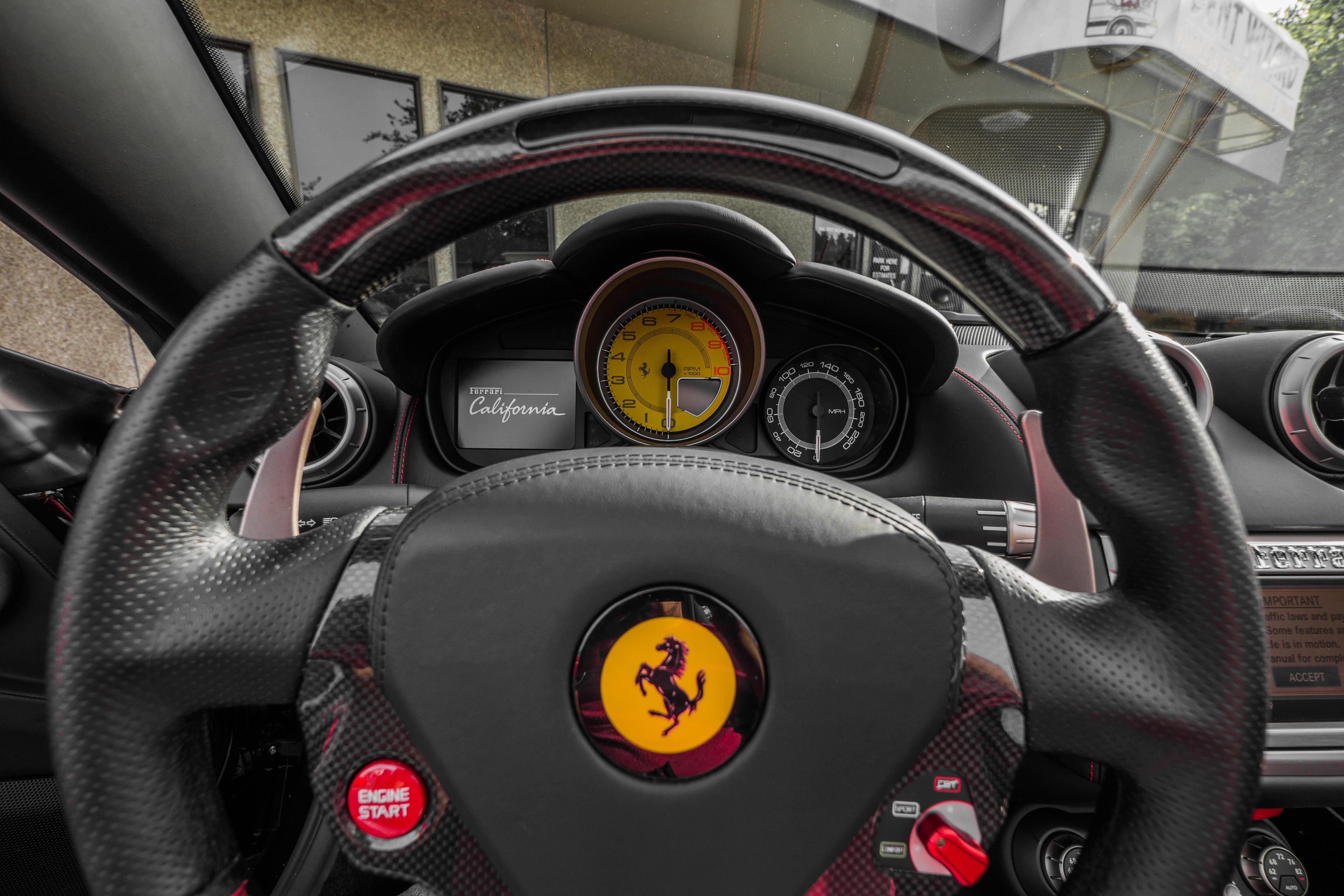 Aerial Ferrari Dash